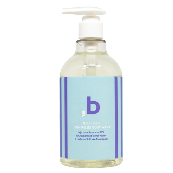 ORINBE Jeju Recipe Skinrelief Body Wash