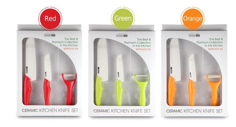 CERAMIC LIFE Kitchenwear Ceramic Knife Set - Dotrade Express. Trusted Korea Manufacturers. Find the best Korean Brands