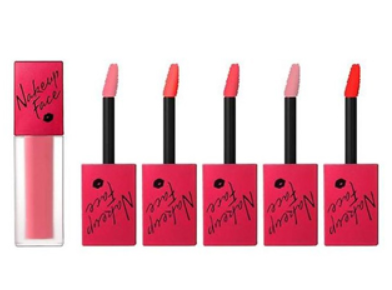 NAKEUPFACE Velvet Scandal Lip Tint 4.4g (5 colors)