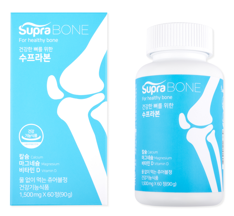 SupraBONE Functional healthy food |  healthy bone | Calcium Magnesium