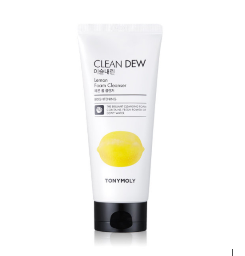 TONYMY CLEAN DEW Lemon Foam Cleanser 180ml
