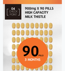 HANMI NATURAL NUTRITION Milk Thistle 900mg x 90 81g
