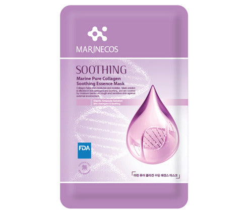 MARINECOS Marine Collagen Soothing Essence Mask - Pack of 10