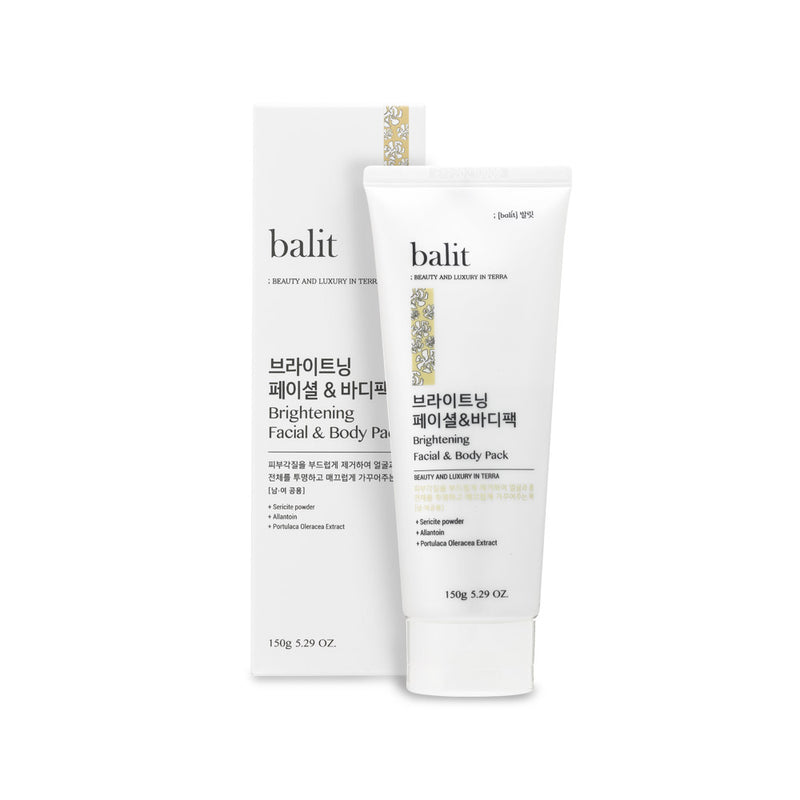 Balit Brightening Facial & Body Pack 150ml - Dotrade Express. Trusted Korea Manufacturers. Find the best Korean Brands