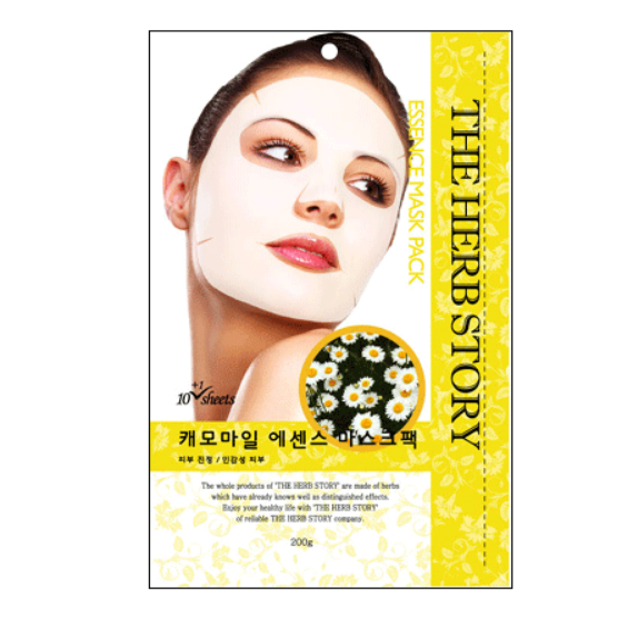 Chamomile Essence Mask  (10 sheets / 200g) x 5 boxes - Dotrade Express. Trusted Korea Manufacturers. Find the best Korean Brands