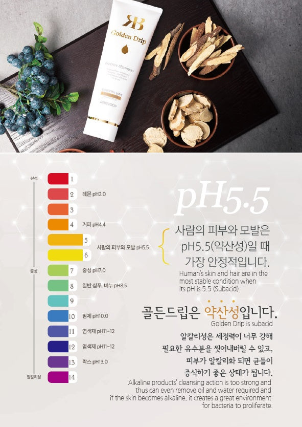 REBECOCO Golden Drip Essence Shampoo 250ml