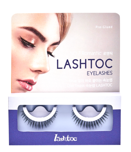 LASHTOC Eyelashes 1 set (Romantic)