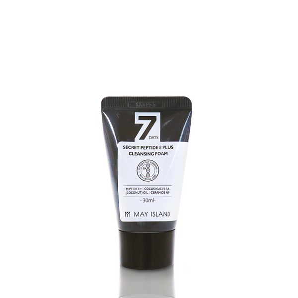 MAY ISLAND 7Days Secret Peptide 8 Plus Cleasing Foam (30ml)
