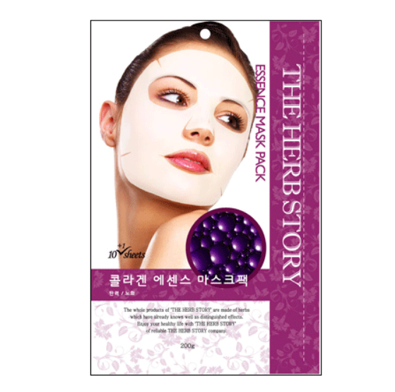 Collagen Essence Mask  (10 sheets / 200g) x 5 boxes - Dotrade Express. Trusted Korea Manufacturers. Find the best Korean Brands