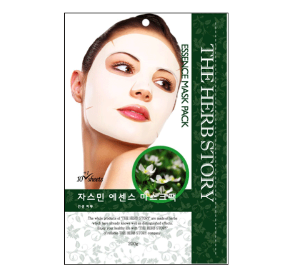 Jasmine Essence Mask  (10 sheets / 200g) x 5 boxes