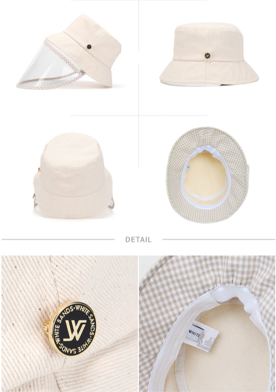 [Hot Sale] White Sands Virus protection hat