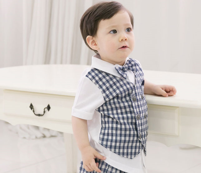 Baby 3 Piece Check Suit Set - Dotrade Express. Trusted Korea Manufacturers. Find the best Korean Brands