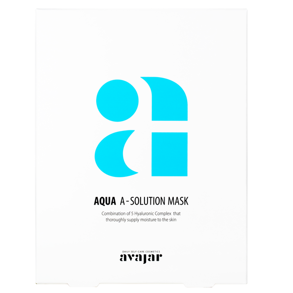 AVAJAR AQUA A-SOLUTION MASK (10EA) - Dotrade Express. Trusted Korea Manufacturers. Find the best Korean Brands