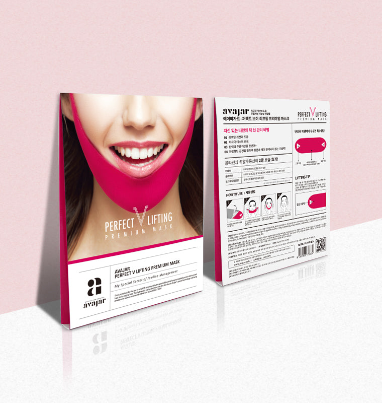 AVAJAR Perfect V LIFTING Premium Mask (5EA) - Dotrade Express. Trusted Korea Manufacturers. Find the best Korean Brands