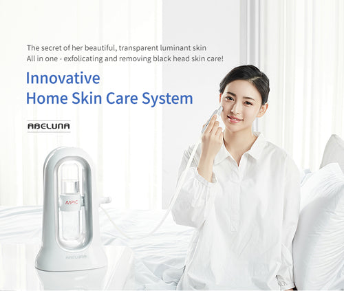 Abeluna Innovation Solution Skin Vacuum (360' Mirror 1pc +  AHA Solution 1pc + Mask Sheet 3pcs)
