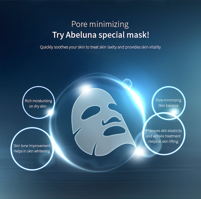Abeluna Innovation Solution Skin Vacuum (360' Mirror 1pc +  AHA Solution 1pc + Mask Sheet 3pcs) - Dotrade Express. Trusted Korea Manufacturers. Find the best Korean Brands