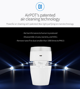 AirPOT Mini Car Air Purifier