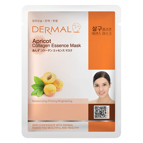 DERMAL Apricot Collagen Essence Mask 10 Pieces - Dotrade Express. Trusted Korea Manufacturers. Find the best Korean Brands