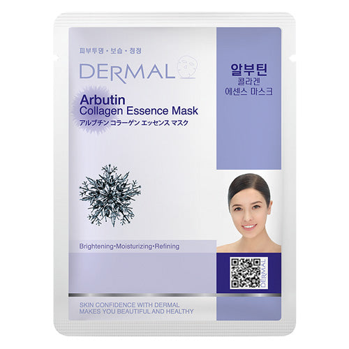 DERMAL Arbutin Collagen Essence Mask 10 Pieces - Dotrade Express. Trusted Korea Manufacturers. Find the best Korean Brands