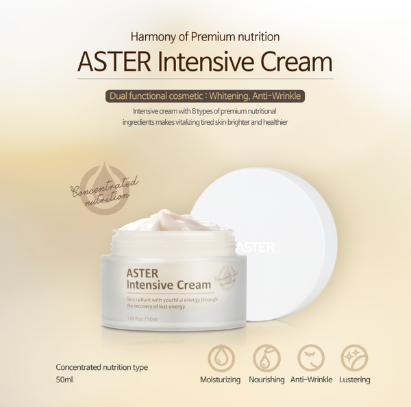 ASTER Intensive Cream - Dotrade Express. Trusted Korea Manufacturers. Find the best Korean Brands