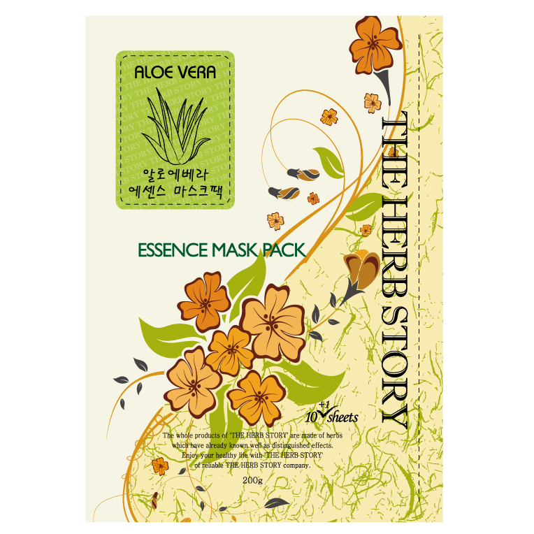 Aloe Vera Essence Mask  (10 sheets / 200g) x 5 boxes - Dotrade Express. Trusted Korea Manufacturers. Find the best Korean Brands