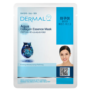 Wholesale DERMAL Aqua Collagen Essence Mask | FOB Korea: US$0.31 x MOQ : 1,200 Pieces