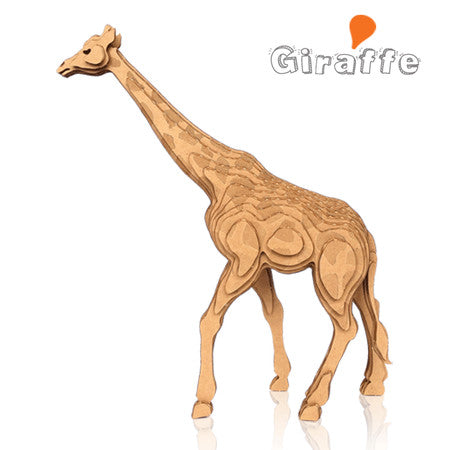 CONTAMO Giraffe Paper Toy - Dotrade Express. Trusted Korea Manufacturers. Find the best Korean Brands