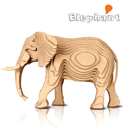 CONTAMO Elephant Paper Toy - Dotrade Express. Trusted Korea Manufacturers. Find the best Korean Brands