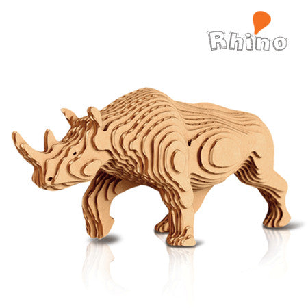 CONTAMO Rhino Paper Toy - Dotrade Express. Trusted Korea Manufacturers. Find the best Korean Brands