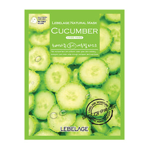 Cucumber Natural Mask 50 sheets