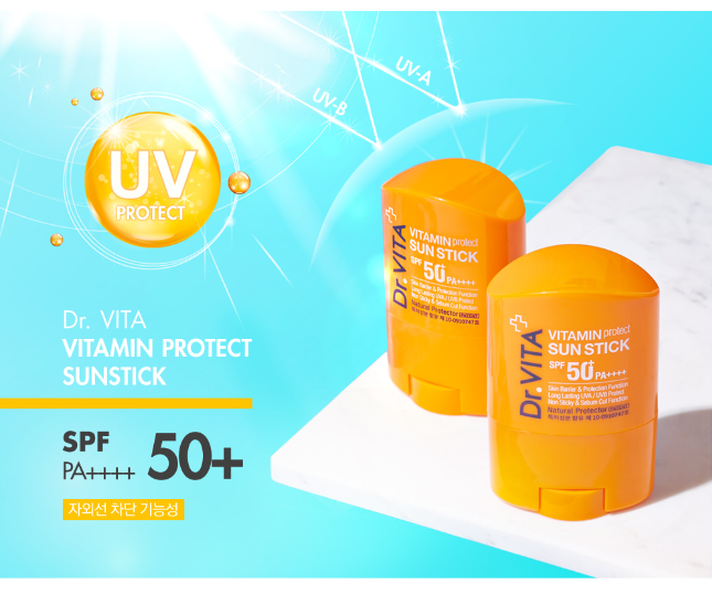 DAYCELL Dr. Vita Vitamin Protect Sun Stick - Dotrade Express. Trusted Korea Manufacturers. Find the best Korean Brands