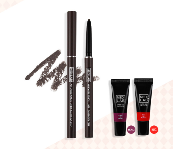 DAYCELL Medi Lab Set - Pencil Liner in Sad Brown, Gel Lip Tint in Blood Of Vampire - Dotrade Express. Trusted Korea Manufacturers. Find the best Korean Brands