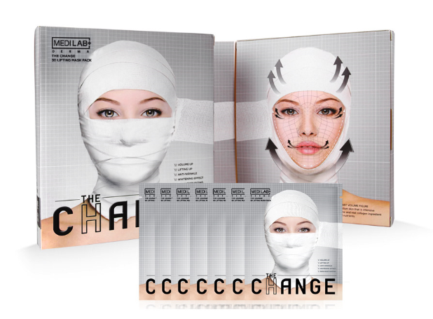 DAYCELL Medi Lab The Change 3D Lifting Mask Sheets -  Pack of 7