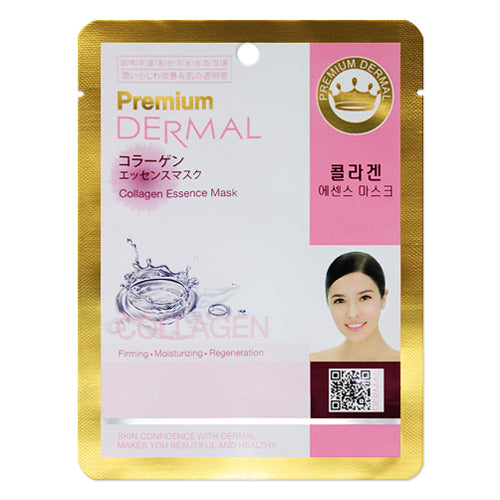 DERMAL Premium Collagen Essence Mask 10 Pieces