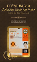 DERMAL Premium Q10 Collagen Essence Mask 10 Pieces - Dotrade Express. Trusted Korea Manufacturers. Find the best Korean Brands