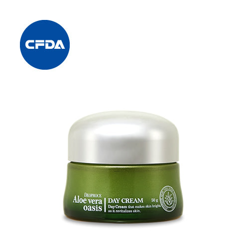 Aloe Vera Oasis Day Cream 50g - Dotrade Express. Trusted Korea Manufacturers. Find the best Korean Brands
