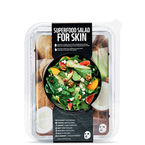 FARMSKIN Superfood Coconut Salad Face Mask Set (7 Sheets)