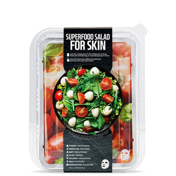 FARMSKIN Superfood Tomato Salad Face Mask Set (7 Sheets) - Dotrade Express. Trusted Korea Manufacturers. Find the best Korean Brands
