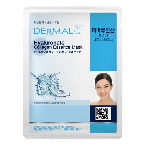 DERMAL Hyaluronate Collagen Essence Mask 10 Pieces