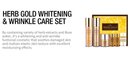 Herb Gold Whitening & Wrinkle Care Set - Dotrade Express. Trusted Korea Manufacturers. Find the best Korean Brands