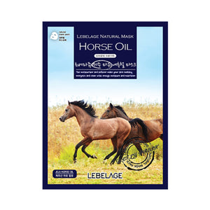 Horse Oil Mask 50 sheets (Jeju Horse Oil)