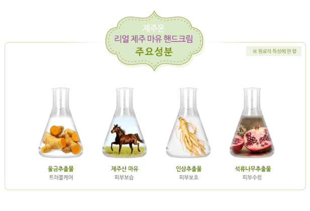 JEJUON Real Jeju Horse Oil Hand Cream 75ml