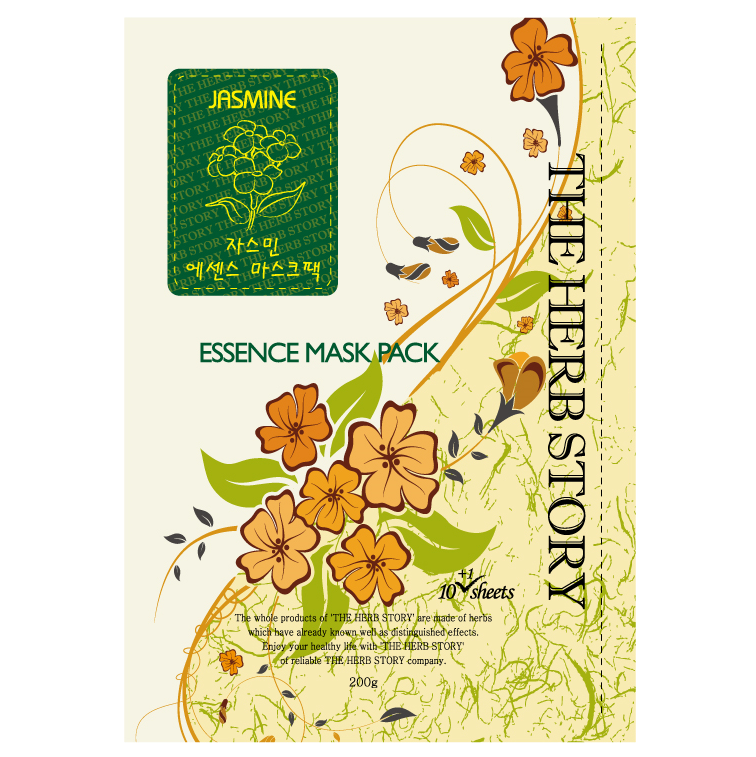 Jasmine Essence Mask  (10 sheets / 200g) x 5 boxes - Dotrade Express. Trusted Korea Manufacturers. Find the best Korean Brands