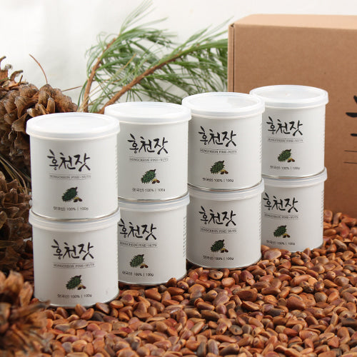 HONG CHEON Pine Nuts 100g - Dotrade Express. Trusted Korea Manufacturers. Find the best Korean Brands