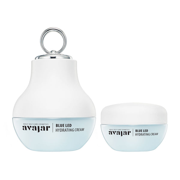 AVAJAR Blue LED Hydrating Cream (Special PKG) - with Beauty device - Dotrade Express. Trusted Korea Manufacturers. Find the best Korean Brands