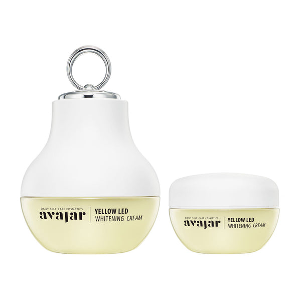 AVAJAR Yellow LED Whitening Cream (Special PKG) - with Beauty device - Dotrade Express. Trusted Korea Manufacturers. Find the best Korean Brands