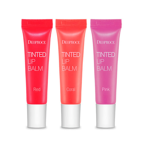 DEOPROCE TINTED LIPBALM 10g (RED, CORAL, PINK) - Dotrade Express. Trusted Korea Manufacturers. Find the best Korean Brands