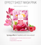 Color Synergy Effect Sheet Mask Pink 20g / 10 sheets - Dotrade Express. Trusted Korea Manufacturers. Find the best Korean Brands