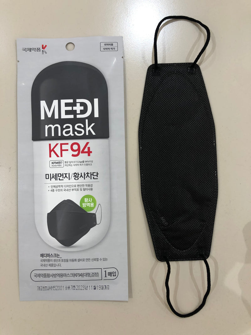 MEDI Mask KF94 (Black)