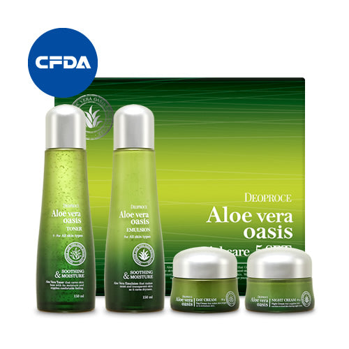 Aloe Vera Oasis Special Care 4 Set - Dotrade Express. Trusted Korea Manufacturers. Find the best Korean Brands
